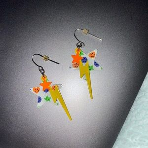 Y2K Star Earrings